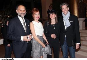Θανάσης Γκλίνος, Ένρικα Μαρτινέλλι, Irene Mamfredos, Κίμων Φραγκάκης